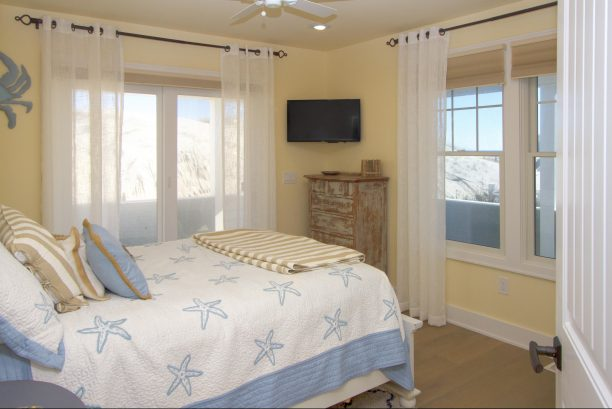 1st floor south Oceanfront guest room....spacious room, opens directly to oceanfront covered porch