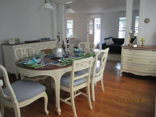 Antique Furnishings updated for your comfort