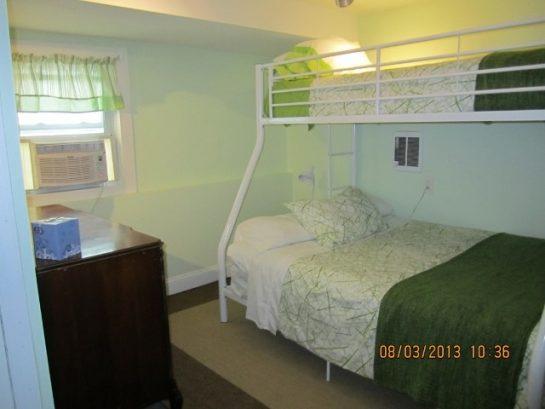Ground Floor bedroom, Twin over Full Bunk Bed