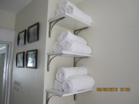 Comfy Towels and Vintage Art Prints