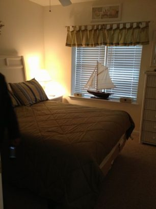 Master Bedroom, View Of Ocean, Ceiling Fan, Flat-screen Tv
