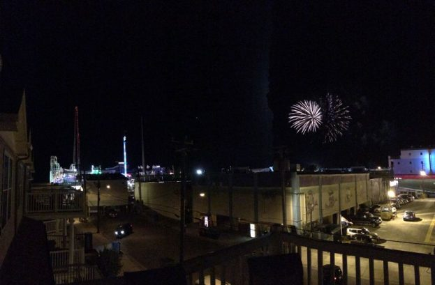 Enjoy Friday Night Fireworks From The Deck In The Summer!