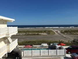 Beachfront Beauty! 2 br, top floor, heated pool