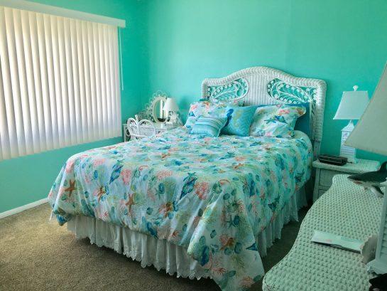 Front bedroom with ocean view