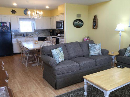 Spacious bright living area