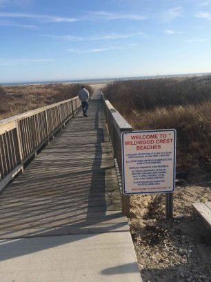ONLY STEPS TO THE CLEANEST FREE  BEACHES ON THE EAST COAST-VOTED # 1 JERSEY SHORE BEACHES EVERY YEAR
