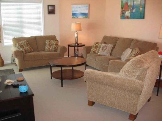 OPEN FLOOR PLAN MAKES FOR COMFORTABLE FAMILY LIVING ON VACATION