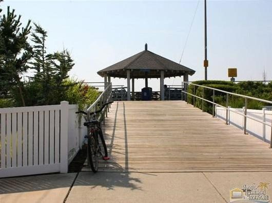 Ideal Ramp Access To The 20th Street Beach and Boardwalk. Great for beach carts, strollers, bikes.