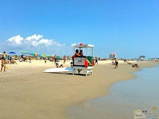 The 20th Street Beach Is Lifeguarded In Season. Check Local Schedule for Details.