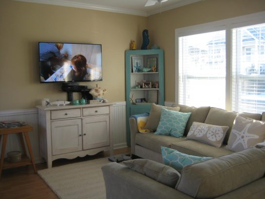 "Living Room - Smart Samsung 50"" TV"