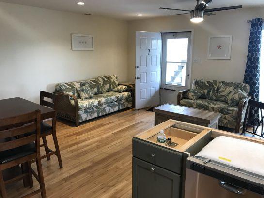 Unit 7 living room
