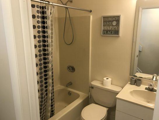 Unit 8 hall bathroom