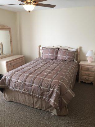Unit 1 master bedroom queen