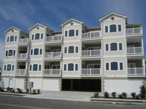 A Beautiful, Ocean-View, 3 BR Condo, 1 Block to Beach