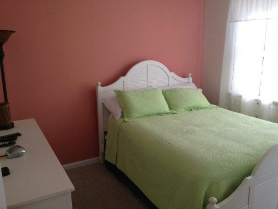 Queen Bedroom on Living Floor