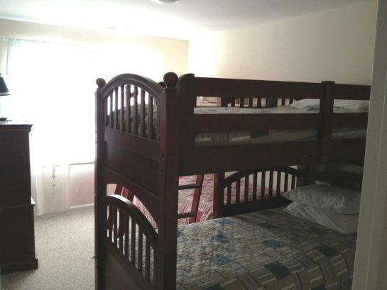 Twin Bunk Bedroom on Second Floor