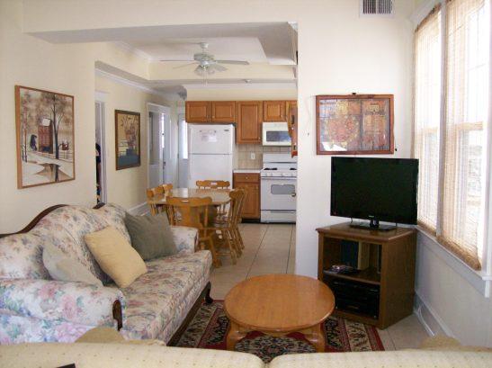 Main living quarters