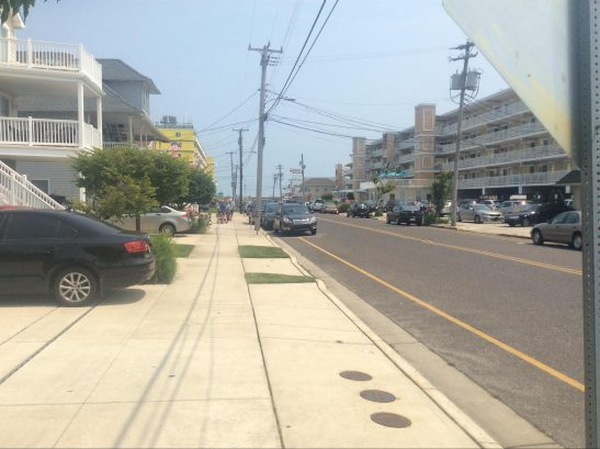 It's a short walk to the beach and Boardwalk.