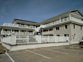 Ocean view condo 1/2 block from beach with pool