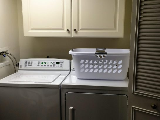 new full washer and dryer