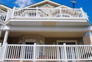 Newly remodeled beach house 2.5 blocks from the boardwalk
