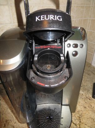 I stock K- Cups!  We also have a drip coffee maker