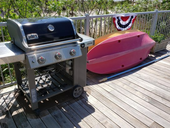 Gas Grill- 2 Kayaks