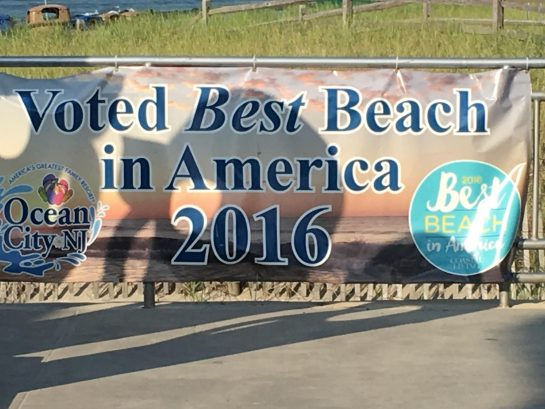 Voted best beach in America for 2016.