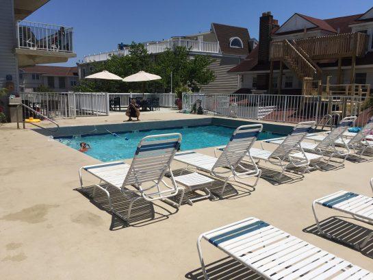 Ahh, the pool.