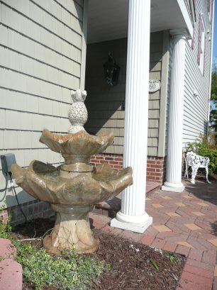 Fountain at Entry to home