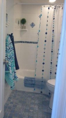 Full size shower and tub for bathing the little ones