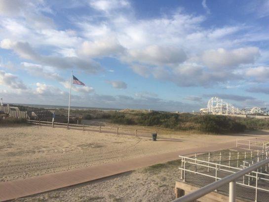 Beach and Surfside Pier