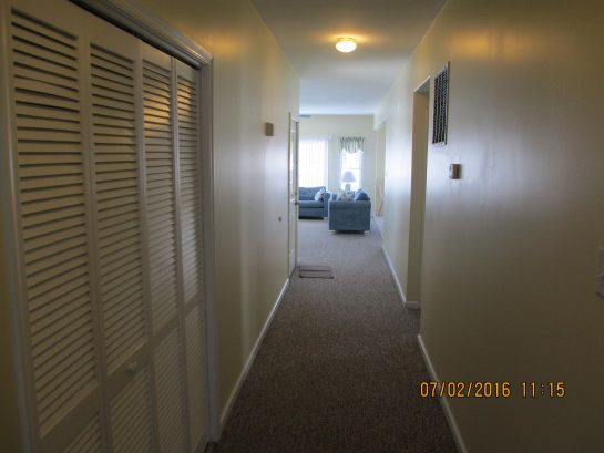 325 - UNIT A (First Floor) Corridor to Living/Dining/Kitchen