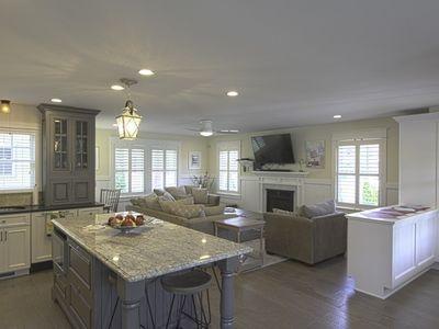Family room & kitchen