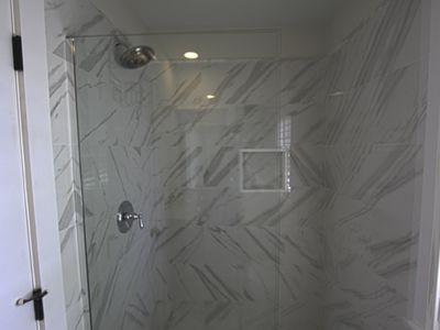 Master suite - shower