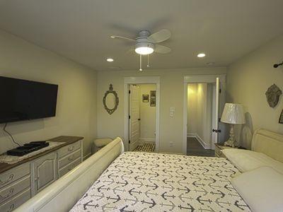 Second bedroom facing bathroom