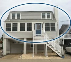 Beautiful Beach Block Getaway-4 Bedrooms 1 1/2 Baths, Sleeps 10 on Desirable F Street