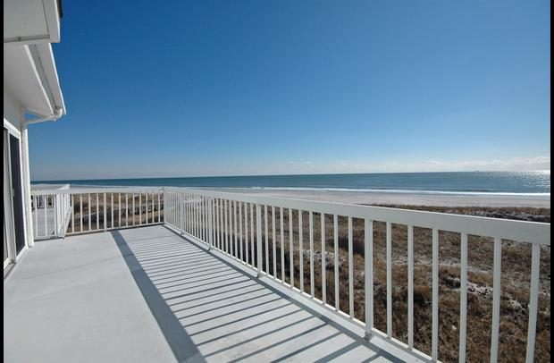 Breathtaking views from the oversized deck