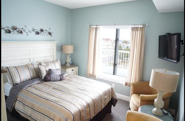 2nd Bedroom with view of Brigantine Island