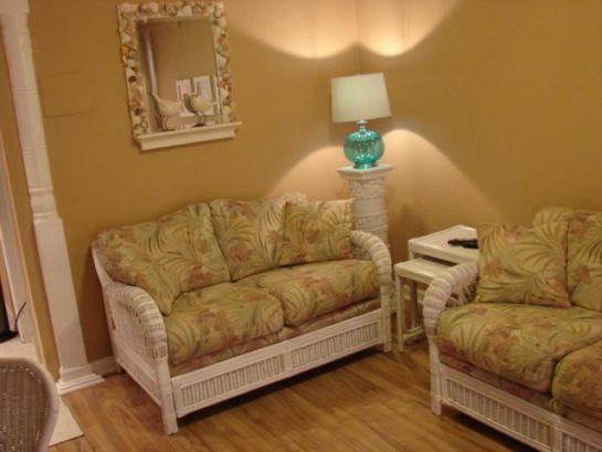 Love seat in livingroom