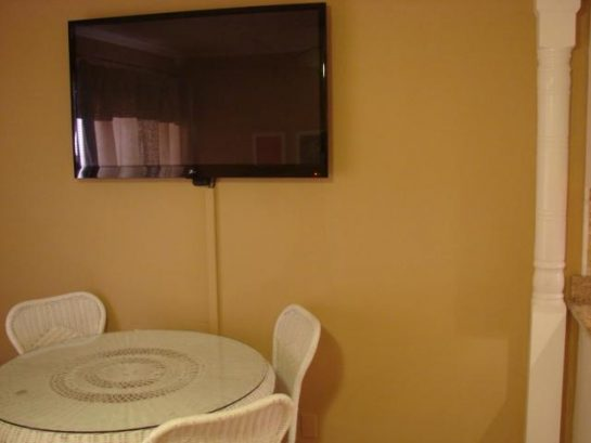 "52"" Flat screen in living/dinning area"