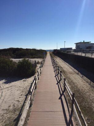 23rd Street Beach walkway
