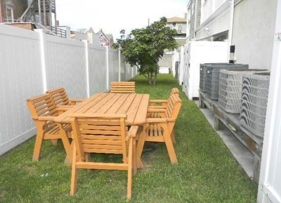 Picnic Table and Grilling Area