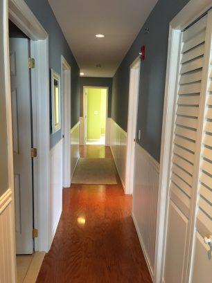 Hallway on main floor