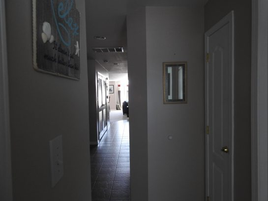 Hallway from Bedrooms to Living room