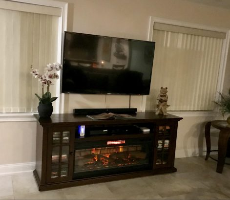 Fireplace (electronic) / Entertainment Center
