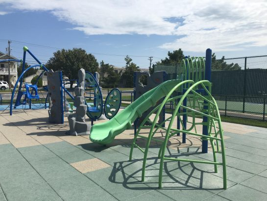 There are 6 updated playgrounds in Avalon.  Coming spring 2019, Surfside park will open in Avalon at our beach on 29th Street!