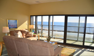 Great Penthouse With Million Dollar Ocean Front Views, 3 bedrooms, 2 bath rooms, Sleep 12