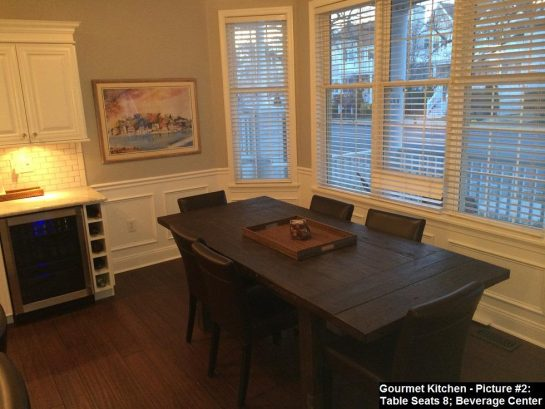Kitchen - Large Farrm Table
