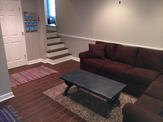 Lower Level Family Room / Bedroom 5